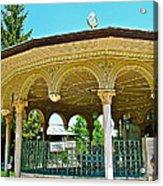 Fountain For Doing Ablutions In Konya-turkey  Acrylic Print