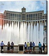 Fountains Of Bellagio, Bellagio Resort Acrylic Print