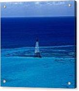 Fowery Rocks Lighthouse Acrylic Print