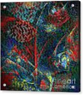 Fractal Flower Acrylic Print