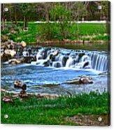 Framed Falls Acrylic Print