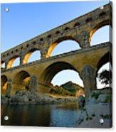 France, Avignon The Pont Du Gard Roman Acrylic Print