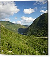 Franconia Notch State Park - White Mountains New Hampshire Usa  Acrylic Print