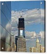 Freedom Tower Acrylic Print by Wayne Gill