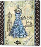 French Dress Shop-b1 Acrylic Print