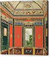 Fresco Decoration In The Summer House Acrylic Print