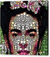Frida Kahlo Art - Define Beauty Acrylic Print