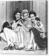 From Left, Maxene Andrews, Patty Acrylic Print
