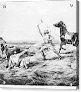 Frontiersman, 1858 Acrylic Print