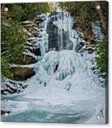 Frozen Catawba Acrylic Print