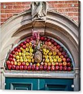 Fruit Door Covering Acrylic Print