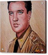 G I Elvis  Acrylic Print