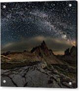 Galaxy Dolomites Acrylic Print