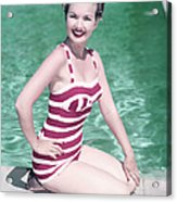 Gale Storm Acrylic Print