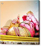 Ganesh Acrylic Print