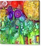 Garden Sunset Acrylic Print