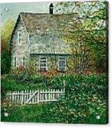 Gardening Shed Acrylic Print