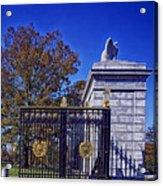 Gate To Arlington Cemetery Acrylic Print