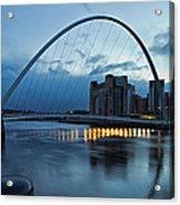 Gateshead Millennium Bridge Acrylic Print