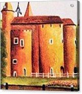 Gateway To Brugge Acrylic Print