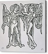 Gemini An Illustration Acrylic Print