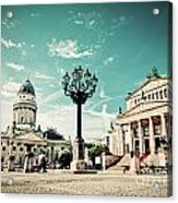 Gendarmenmarkt In Berlin Germany Acrylic Print