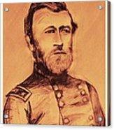 General Us Grant Acrylic Print