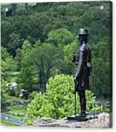 General Warren At Little Round Top Acrylic Print