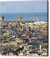 Genova. The Old Town  Acrylic Print