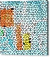 Geometric Abstract Acrylic Print