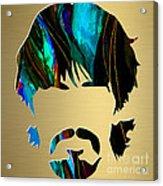 George Harrison Gold Series. Acrylic Print