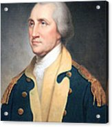 George Washington By Rembrandt Peale Acrylic Print