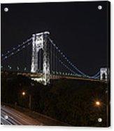 George Washington Bridge - Memorial Day 2013 Acrylic Print