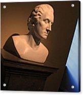George Washington Dark Blue -- Horatio Greenough Acrylic Print