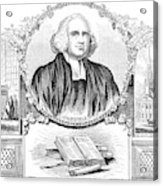 George Whitefield (1714-1770) Acrylic Print