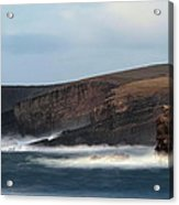 Georges Head Kilkee Acrylic Print by Peter Skelton