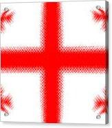 Georgian Flag Acrylic Print