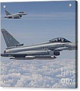 German Eurofighter Typhoon Jets Acrylic Print