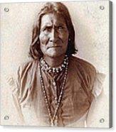 Geronimo Native American Chief Acrylic Print