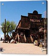 Ghost Town Saloon Acrylic Print