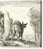 Giovanni Domenico Tiepolo Italian, 1727 - 1804. The Flight Acrylic Print