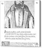 Girolamo Zanchi (1516-1590) Acrylic Print