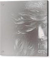 Glamorous Girl With Luxury Salon Hair Style Acrylic Print