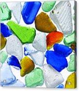 Glass Beach Beach Glass Acrylic Print
