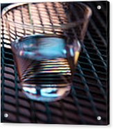 Glass Half Full Acrylic Print by David Patterson