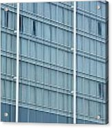 Glasses Cladding Facade Of Modern Architecture As Background Acrylic Print