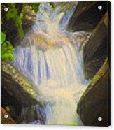 Glen Iris Waterfall Acrylic Print