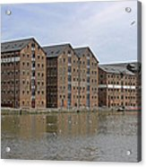 Gloucester Docks Acrylic Print