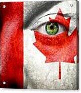 Go Canada Acrylic Print