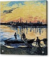 Gogh, Vincent Van 1853-1890. The Acrylic Print by Everett